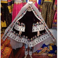New Vintage Afghan Dress # 1249