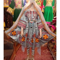 Afghan Beauty Tribal Dress # 1251