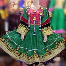 Afghan Tribal Hand Made Dress # 1252
