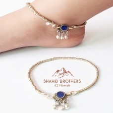 afghan jewellery belly dance tribal anklet-1095