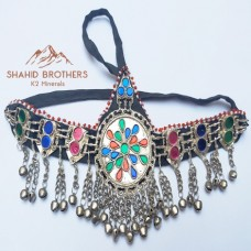 Afghan Tribal Kuchi Hair Headdress Matha Patti Jewellery # 1057