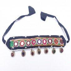 Gypsy tribe coin headpiece-90