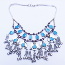 Kuchi traditional coin jewelry necklace-336