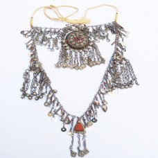 Afghan Tribal Gypsy Pendant Necklace-824