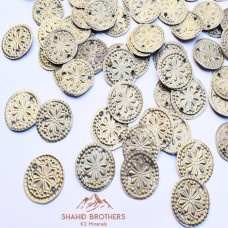 Afghan Diy Component Tribal Amulet Buttons # 1235