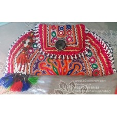 Afghan Tribal Antique Beaded Vintage Pouch-933