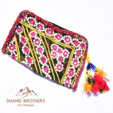 Afghan Tribal Antique Beaded Vintage pouch # 813