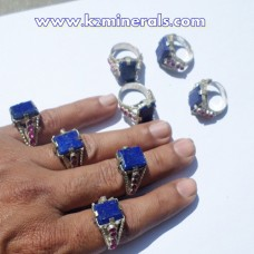 Afghan Tribal Antique Lapis stone Ring # 428